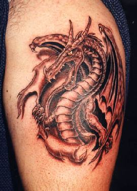 Dragon Tattoo on Dragon Tattoos