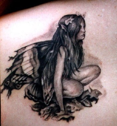 fairy tattoo designs for women-49