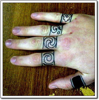 Knuckle tattoos for Knuckle tattoo font
