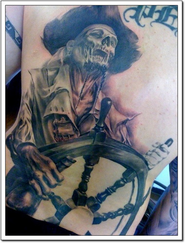 Pirate Tattoos on Pirate Tattoos