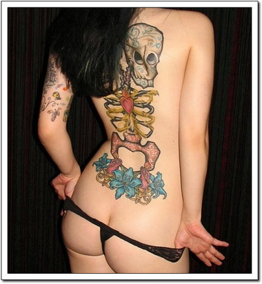 Skeleton Tattoos